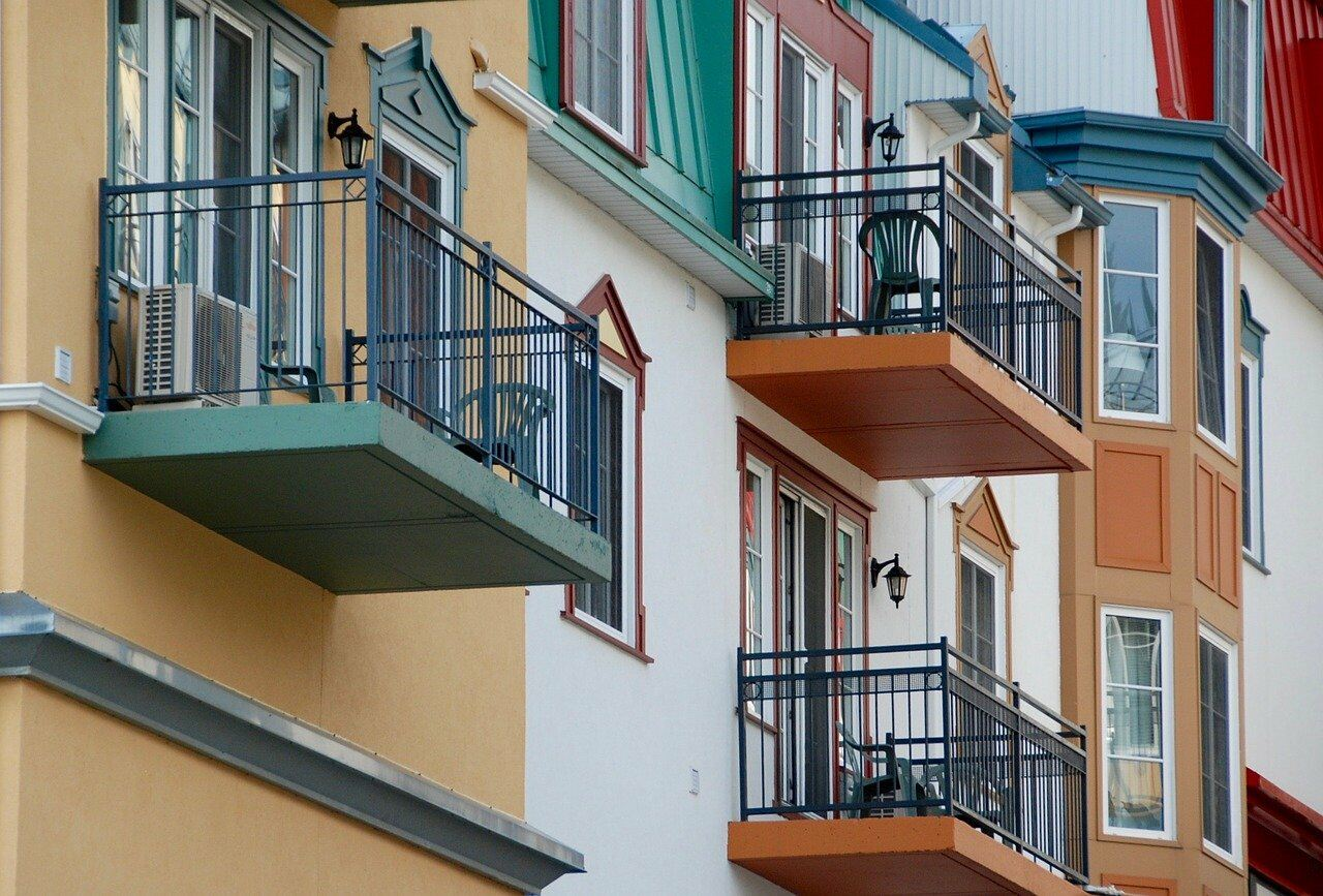 Small balconies