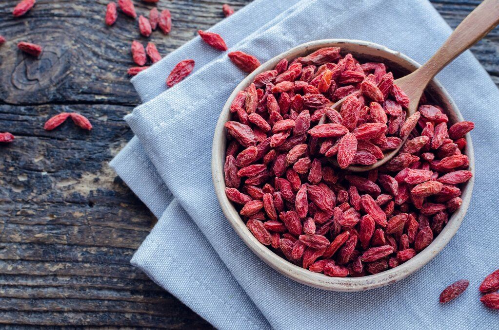 Goji berries night time food