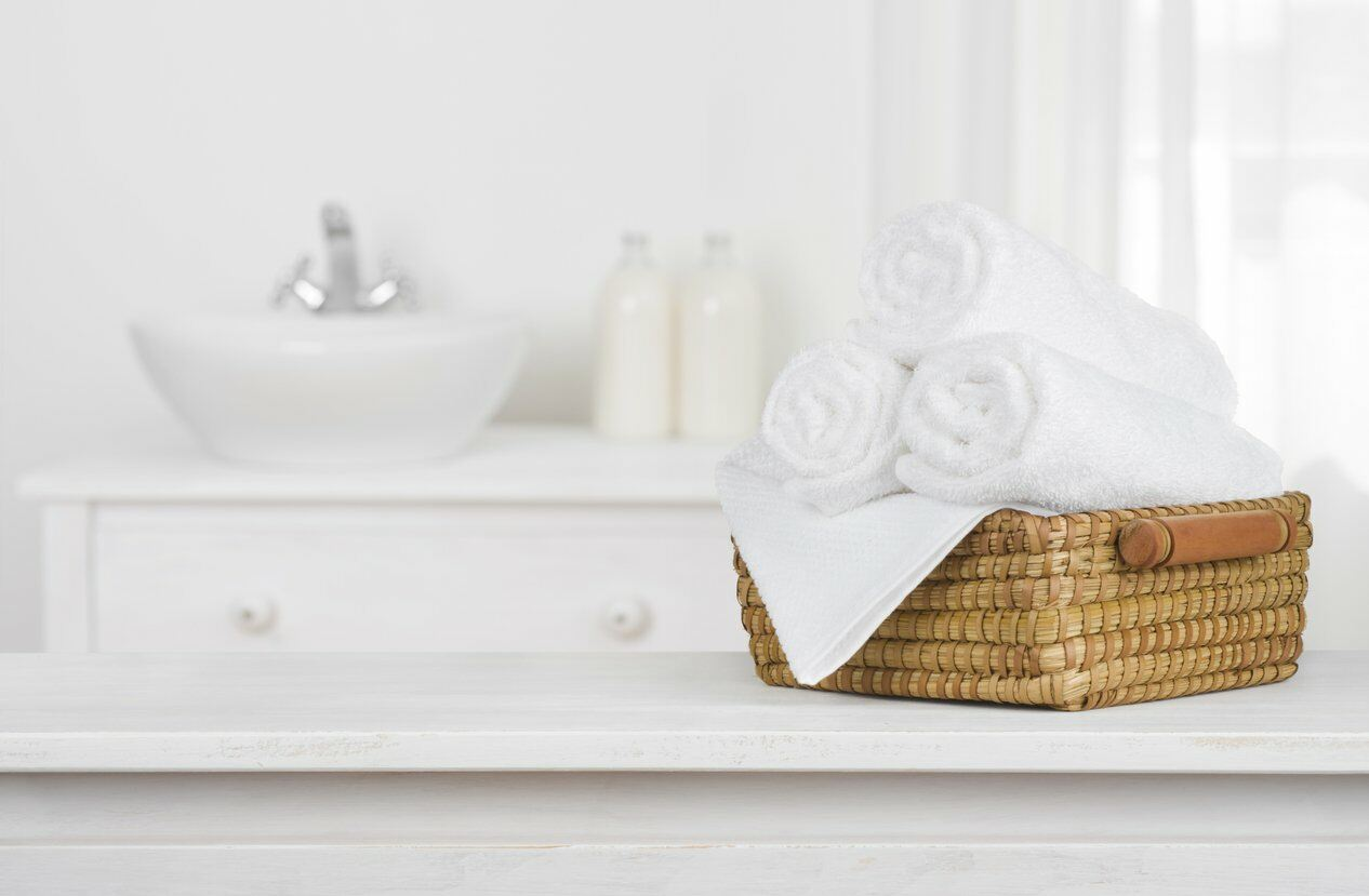 Fresh towels for your bathroom